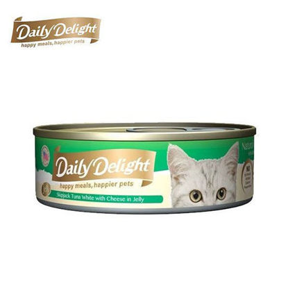 Picture of Daily Delight Skipjack Tuna White with Cheese in Jelly 80g