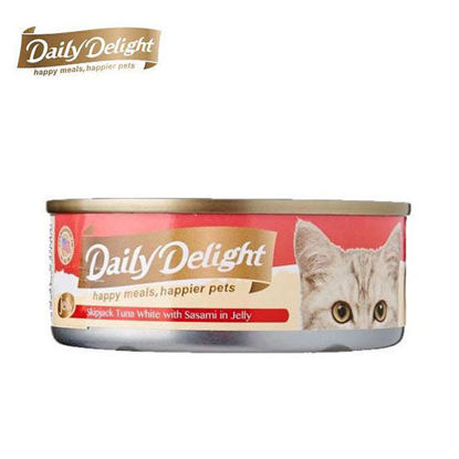 Picture of Daily Delight Skipjack Tuna White with Sasami in Jelly 80g