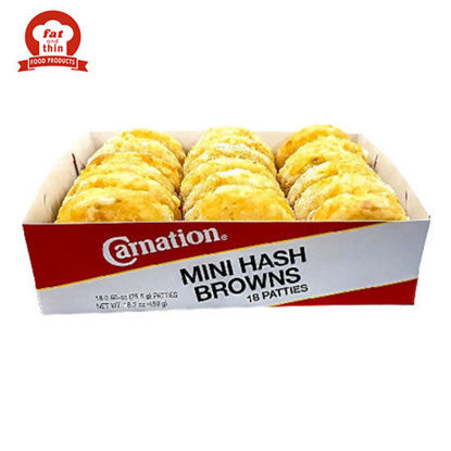 Picture of Carnation Mini Hash Brown 18S