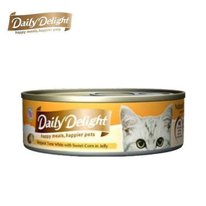 Picture of Daily Delight Skipjack Tuna White with Sweet Corn in Jelly 80g