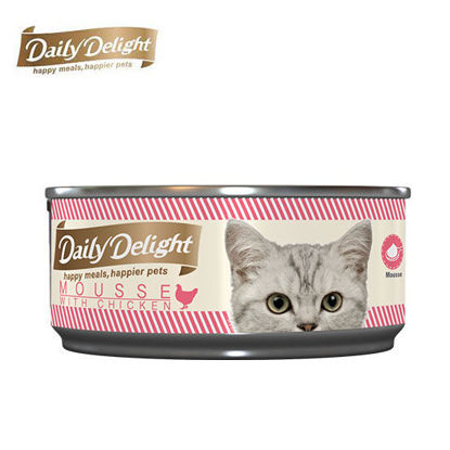Picture of Daily Delight Mousse With Chicken 80g