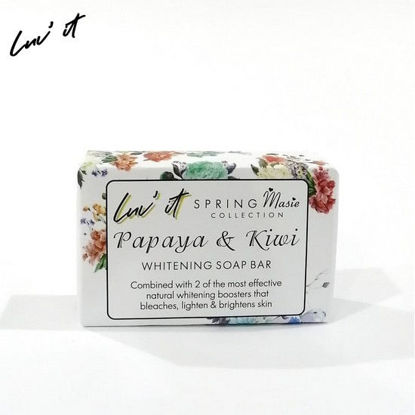 Picture of Luv It Papaya & Kiwi Soap Spring Maisee Collection 120g