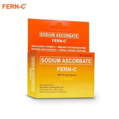 Picture of Fern C 30 capsules (sodium ascorbate, vitamin C)