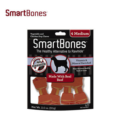 Picture of SmartBones Beef Medium 4pcs