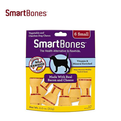 Picture of SmartBones Bacon & Cheese Small 6pk