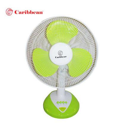 Picture of Caribbean Desk Fan CDF-16 Green