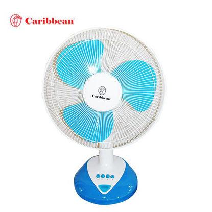 Picture of Caribbean Desk Fan CDF-16 Blue