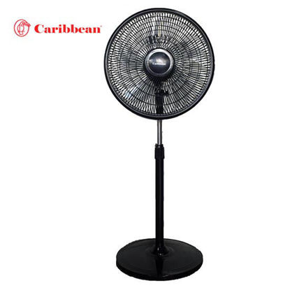 Picture of Caribbean Stand Fan CBSF-16 Black