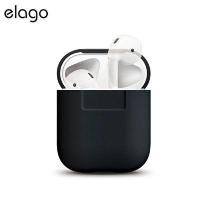 Picture of Elago Silicone Case for Airpods - Black