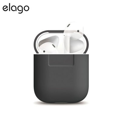 Picture of Elago Silicone Case for Airpods - Dark Grey