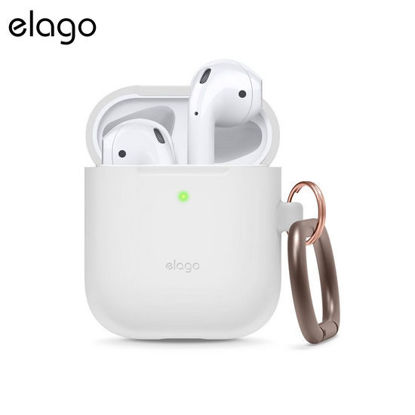 Picture of Elago Carabiner Case for Airpods - White