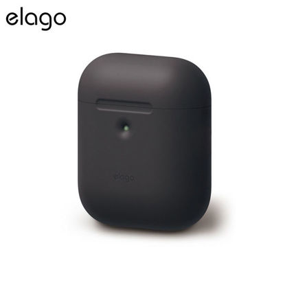 Picture of Elago Silicone Case for Airpods 2 - Black