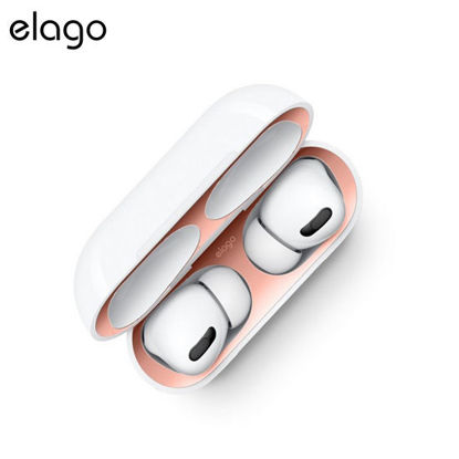 Picture of Elago Airpods Pro Dust Guard 2 Pairs - Rose Gold