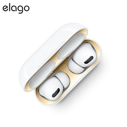 Picture of Elago Airpods Pro Dust Guard 2 Pairs - Gold