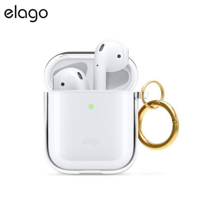 Picture of Elago Airpods Clear Case Hang for 1 & 2