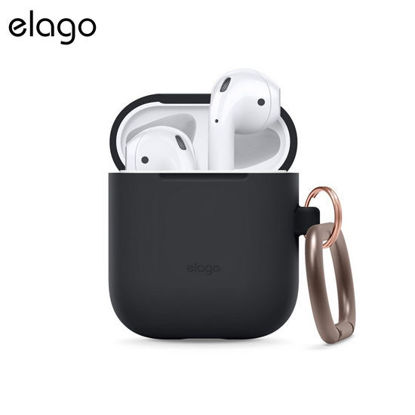 Picture of Elago Carabiner Case for Airpods - Black