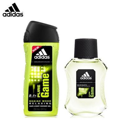 Picture of Adidas Pure Game Set (Eau de Toilette 100ml + Shower Gel 250ml)
