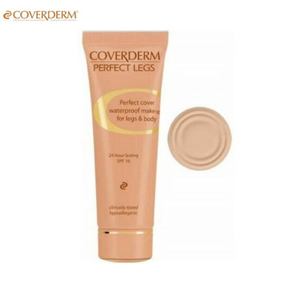 Picture of Coverderm Perfect Legs Waterproof Make Up For Legs Body Spf 16 Shades-01 50ml