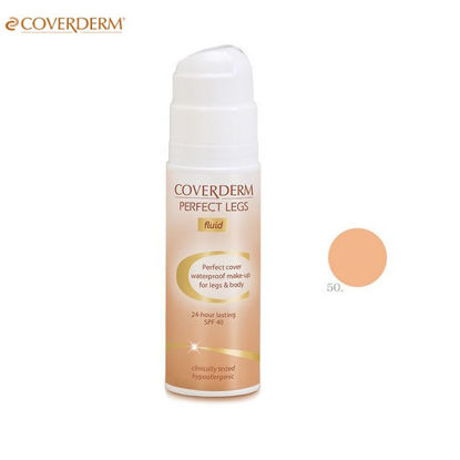Picture of Coverderm Perfect Legs Waterproof Make Up Fluid 50 SPF40 75ml