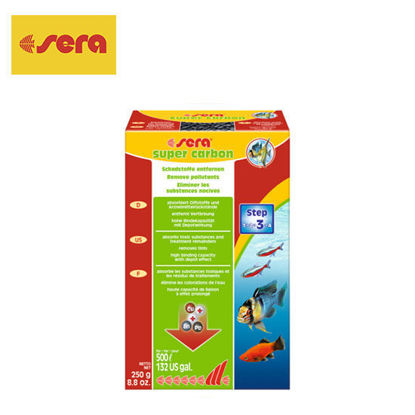 Picture of Sera Filter Carbon 250g