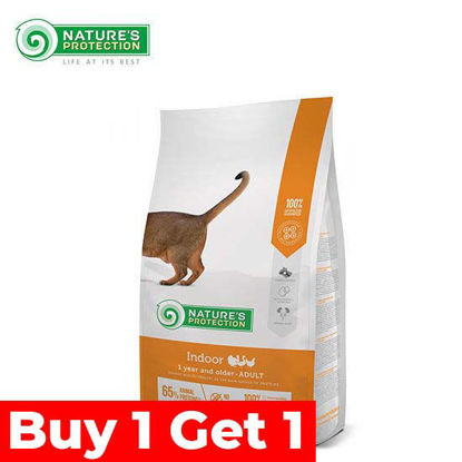 Picture of Nature's Protection Indoor Cat Food 18kg