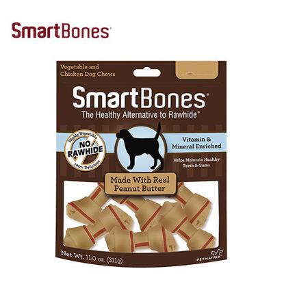 Picture of SmartBones Peanut Butter Mini 16pcs