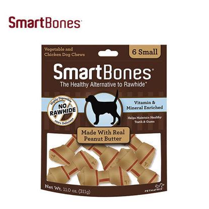 Picture of SmartBones Peanut Butter Small 6pcs