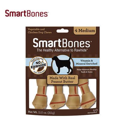 Picture of SmartBones Peanut Butter Med 4pcs