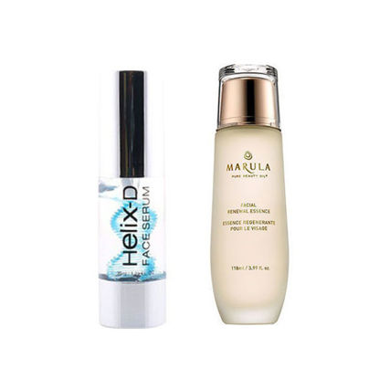 Picture of HELIX-D FACE SERUM 35 ML  + MARULA Facial Renewal Essence