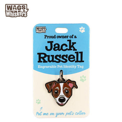 Picture of Wags & Whiskers Pet ID Tag - Jack Russell Terrier