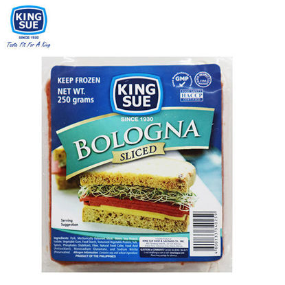Picture of King Sue Ham & Sausage Co., Inc., Bologna, Sliced 250g