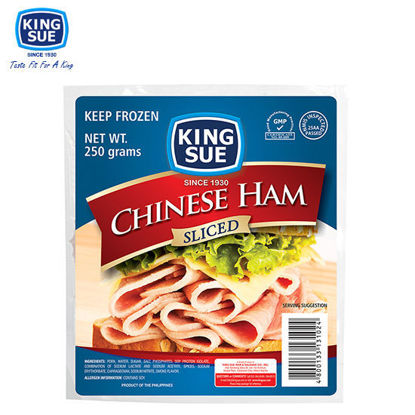 Picture of King Sue Ham & Sausage Co., Inc., Chinese Ham Sliced 250g