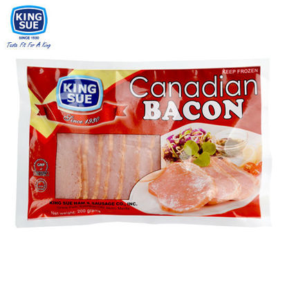 Picture of King Sue Ham & Sausage Co., Inc., Canadian Bacon 200g