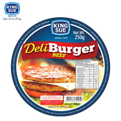Picture of King Sue Ham & Sausage Co., Inc., Deliburger Beef 250g
