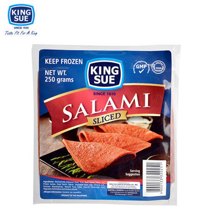 Picture of King Sue Ham & Sausage Co., Inc., Cooked Salami Sliced 250g