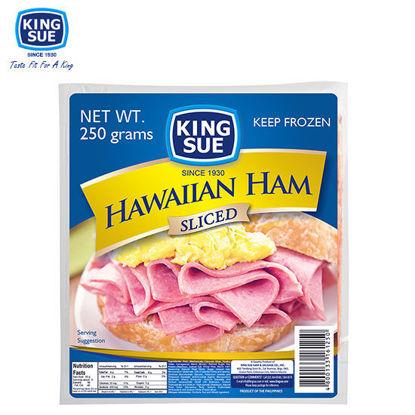 Picture of King Sue Ham & Sausage Co., Inc., Hawaiian Ham, Sliced 250g