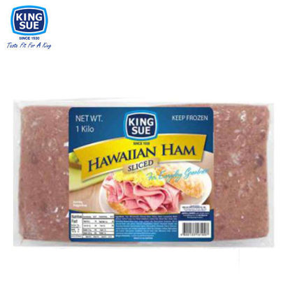 Picture of King Sue Ham & Sausage Co., Inc., Hawaiian Ham, Sliced 1kg