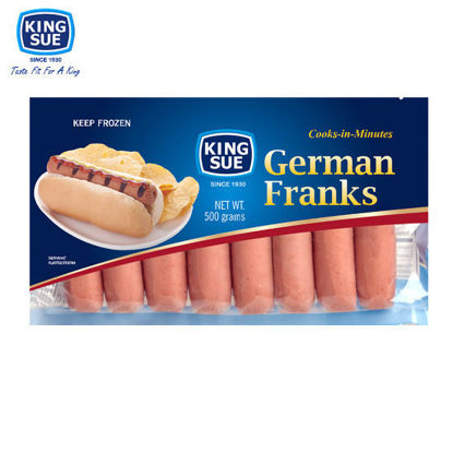 Picture of King Sue Ham & Sausage Co., Inc., German Franks 500g