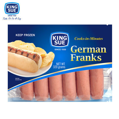 Picture of King Sue Ham & Sausage Co., Inc., German Franks 320g