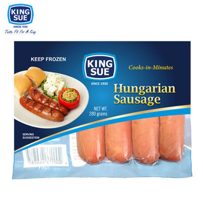 Picture of King Sue Ham & Sausage Co., Inc., Hungarian Style Sausage 280g