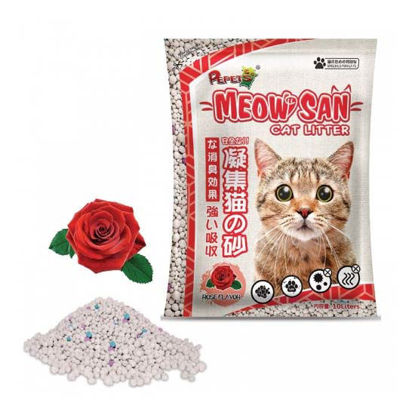 Picture of Meowsan Cat Litter Rose 10L