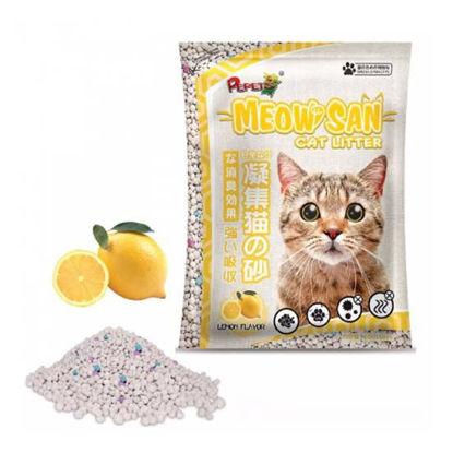 Picture of Meow san Cat Litter Lemon 10L