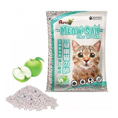 Picture of Meow san Cat Litter Apple 10L