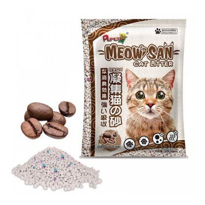 Picture of Meow san Cat Litter Coffee 10L