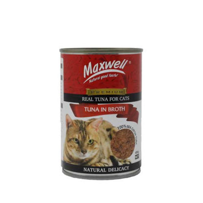 Picture of Maxwell Canned Cat Food Tuna in Broth