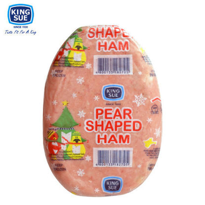 Picture of King Sue Ham & Sausage Co., Inc., Pear Shaped Cooked Ham (Loaf) 700g