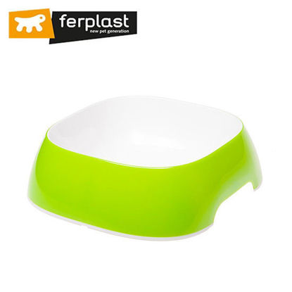 Picture of Ferplast Glam Large Acid Green Bowl