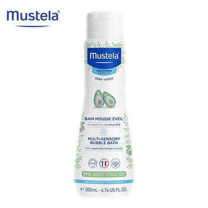 Picture of Mustela Multi Sensory Bubble Bath 200ml