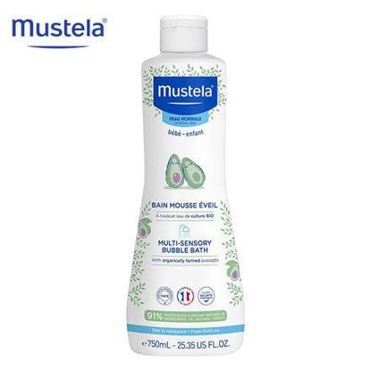 Picture of Mustela Multi Sensory Bubble Bath 750ml