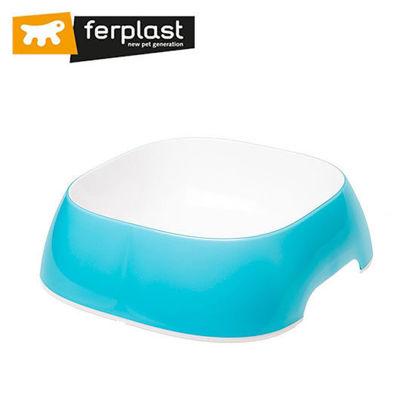 Picture of Ferplast Glam Medium Light Blue Bowl